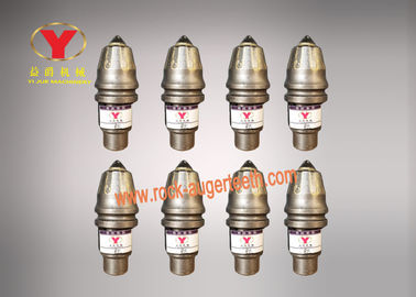 High Grade Tungsten Carbide Auger Bit Teeth , Bolt On Bucket Teeth For Well Drilling